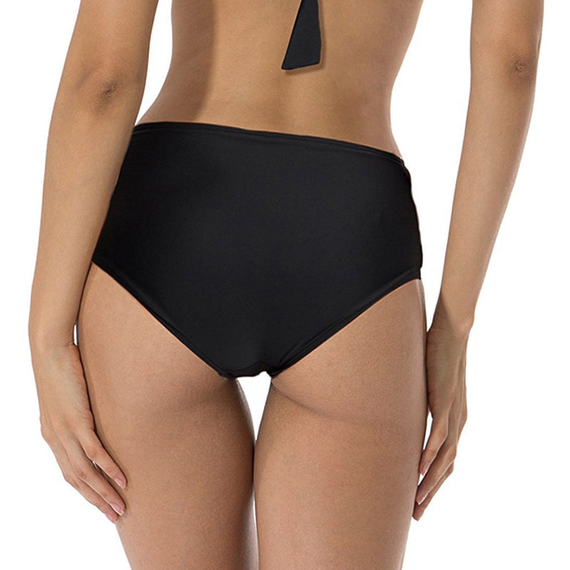 Black Side Strap Bikini Bottom