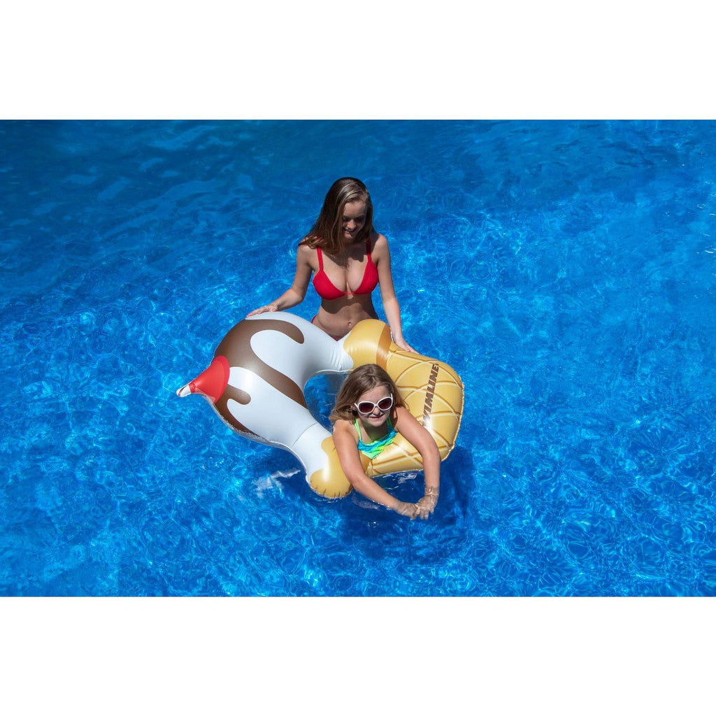 Inflatable Ice Cream Children's Pool Float