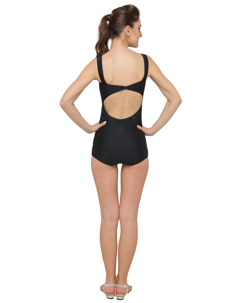Lady in Black Swimsuit (UK 6 Only)