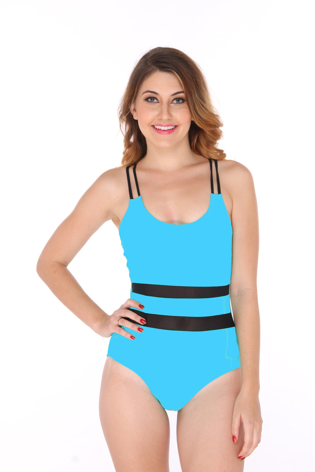 Aqua Cross Back Swimsuit (Only UK10)