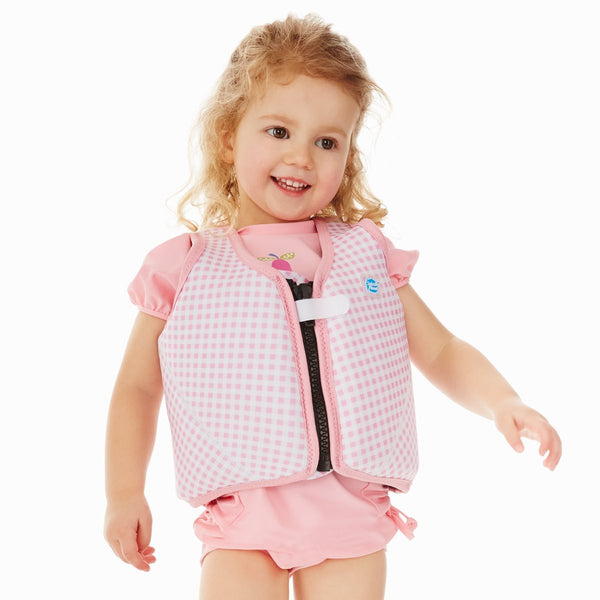 Float Jacket Pink Gingham