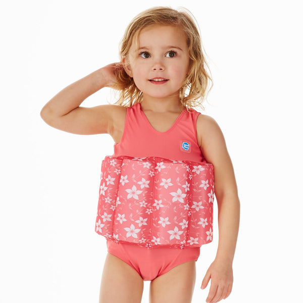 Float Swimsuit Pink Blossom