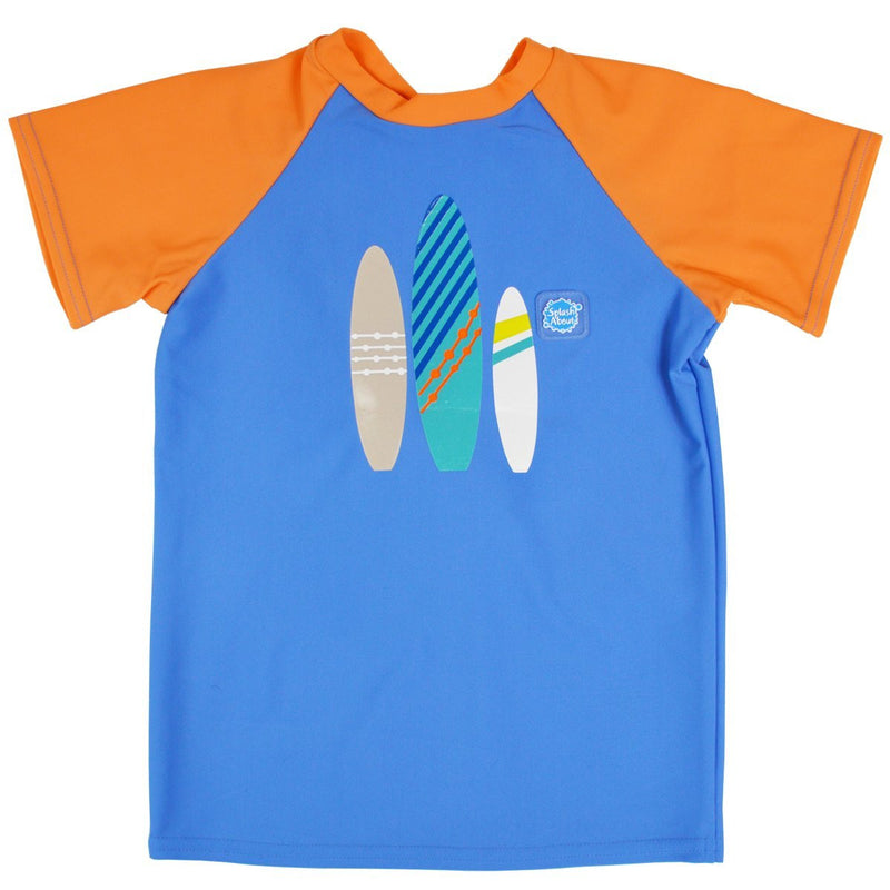 Rash Top Surf Up Short Sleeves