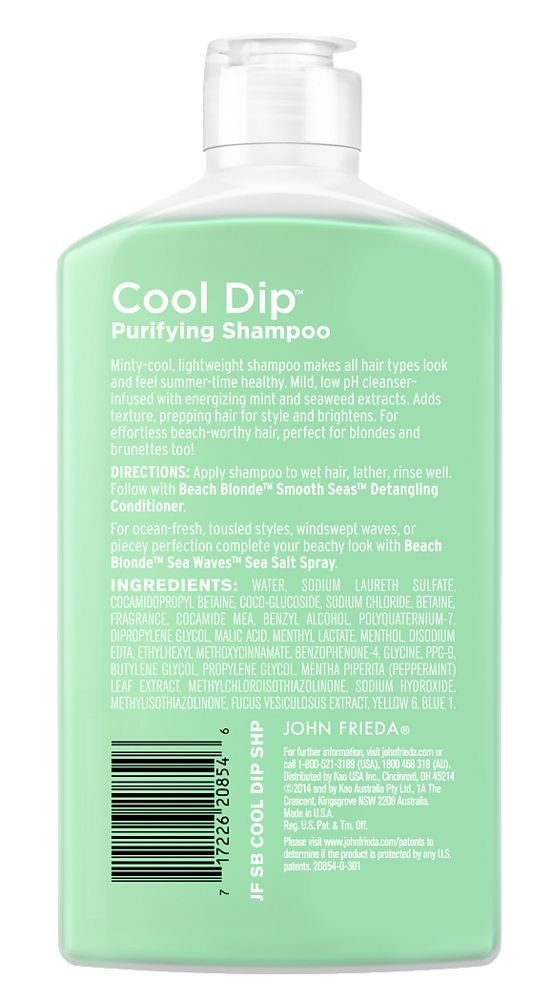 John Frieda Beach Blonde Cool Dip Purifying Shampoo (50ml)