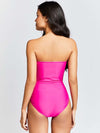 KAI Strapless Drape Swimsuit