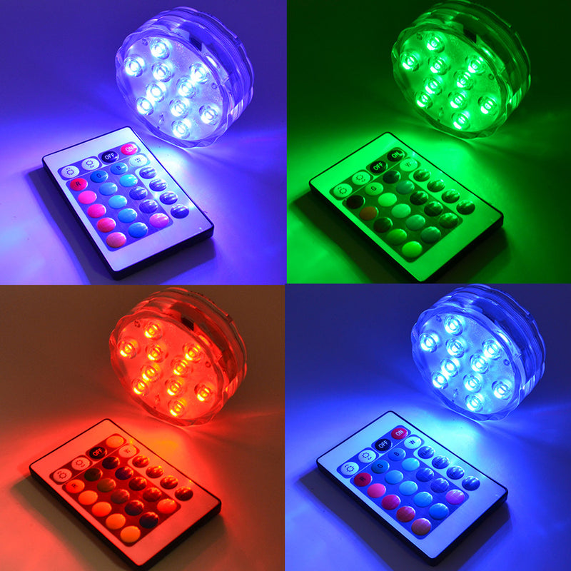 Underwater Submersible LED Lights  (Pack Of 2)