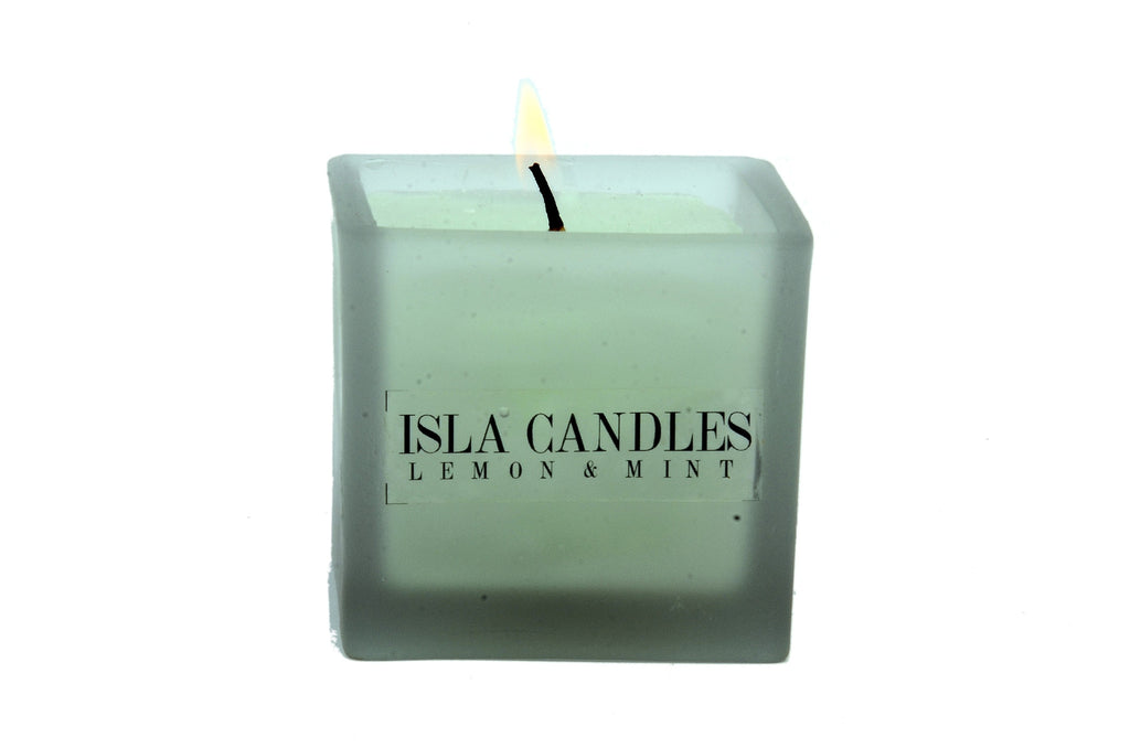 Lemon and Mint Candle