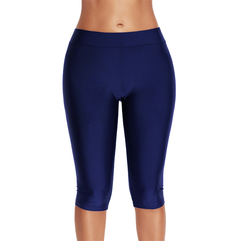 Knee Length Swim Leggings