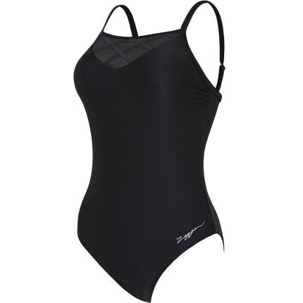 Zoggs Deco Swimsuit (Non-Padded) (UK 8 Only)