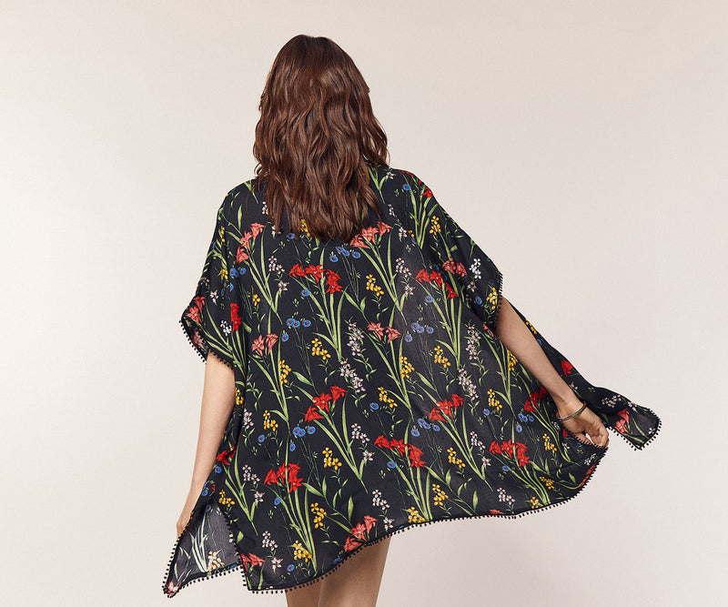Tropical Floral Kaftan