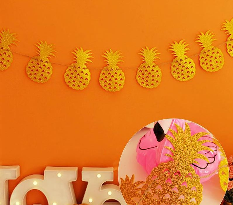 Pineapple Glitter Garland