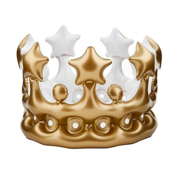 Inflatable Gold Crown