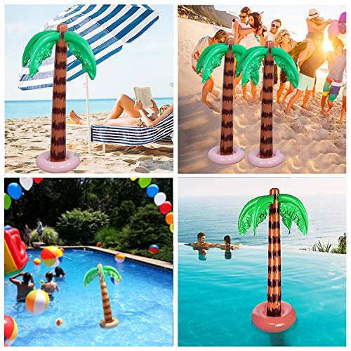 Inflatable Palm Tree (Pack Of 2)