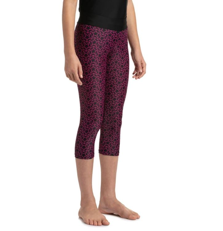 Speedo Boomstar AOP Active Swim Capri - Jr
