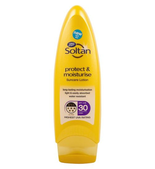 Soltan Protect & Moisturise Lotion SPF30 200ml