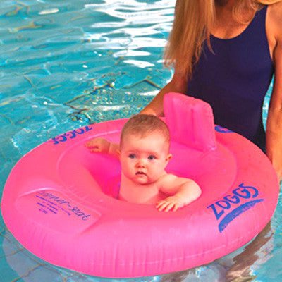 Zoggs Trainer Seat (3-12 months) Pink