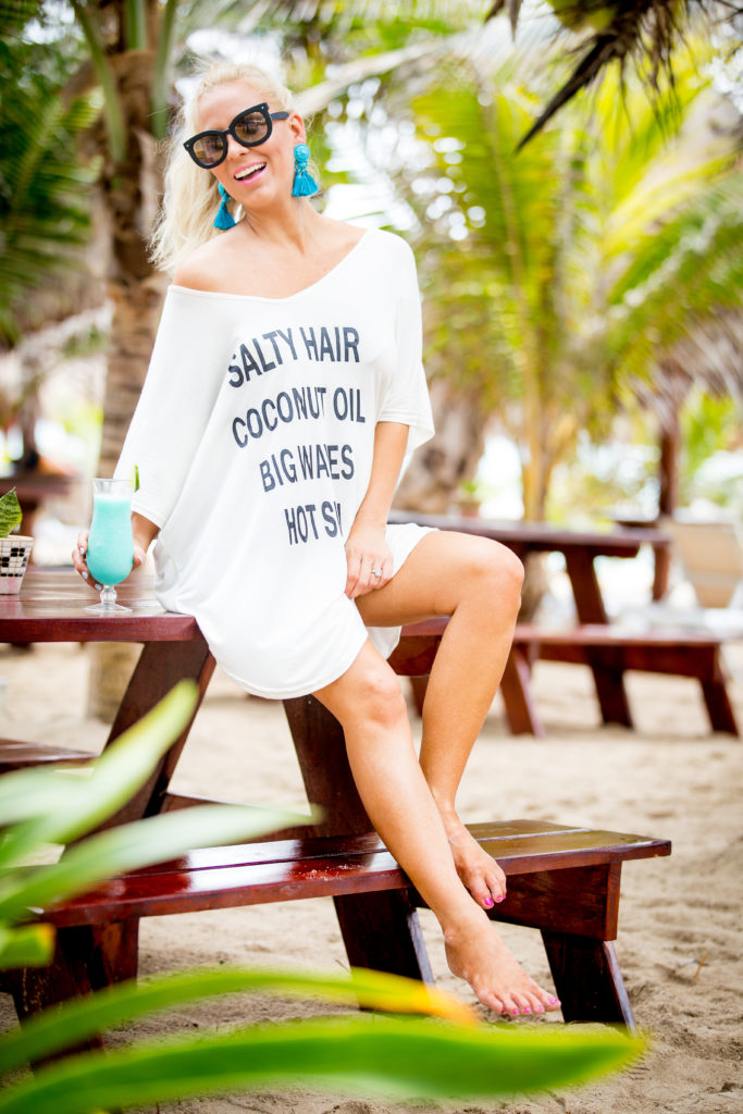Oversize Beach Cover Up