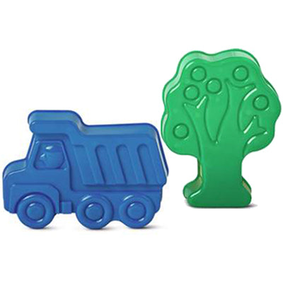 Truck and Tree Sand Moulds