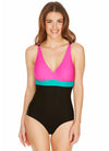 Color Block Swimsuit (Only UK 8)
