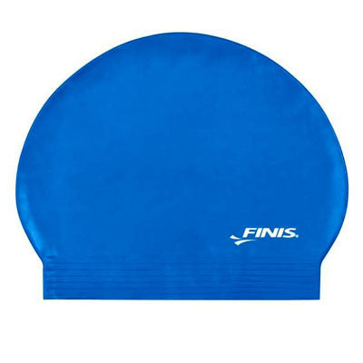 Latex Swim Cap Blue