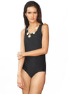 Black Classic Back Cut Out Swimsuit