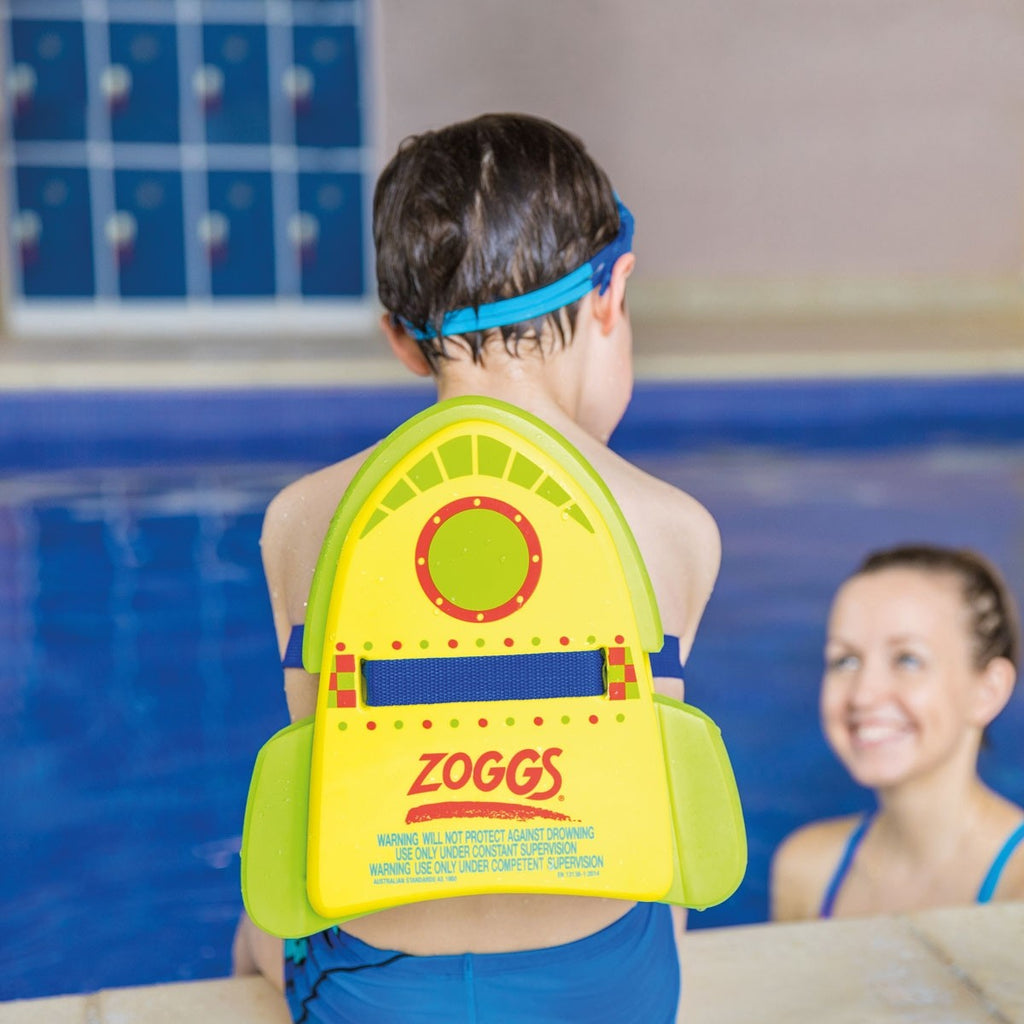Zoggs Three In One Jet Pack + Backfloat + Kickboard