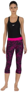Speedo AOP Active Swim Capri