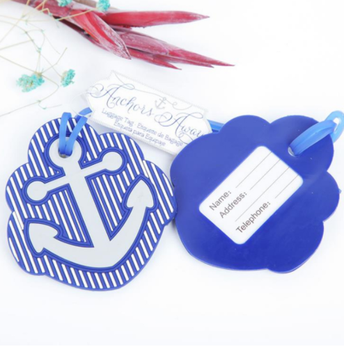 Anchor Luggage Tags (Pack Of 2)