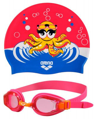 Arena Swim Set - Fuchsia pink Kids