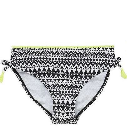 Aztec Print Bandeau Bikini Set (5-7yrs Only)