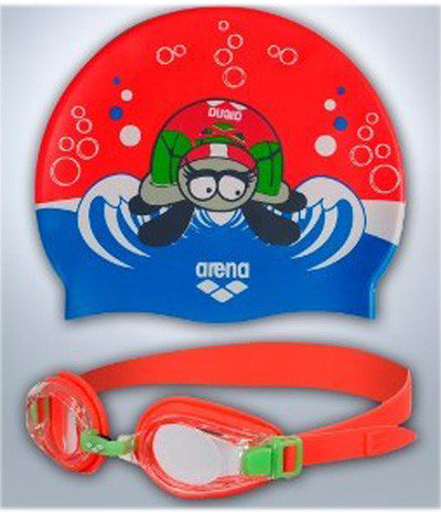 Arena Swim Set  - Maggie Orange Kids