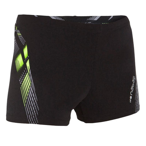 Black/ Yellow Swim Shorts