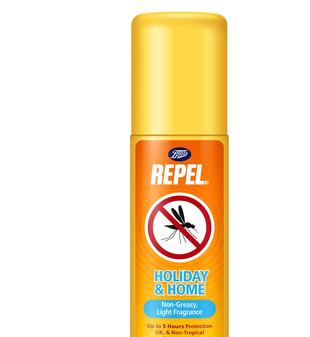Repel Holiday & Home Insect Repellent Aerosol Spray - 50ml