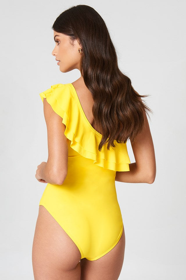 Sunshine Frilled Swimsuit