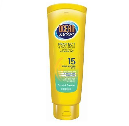 Ocean Potion Protect & Nourish Sunscreen, SPF 15 (250ml)