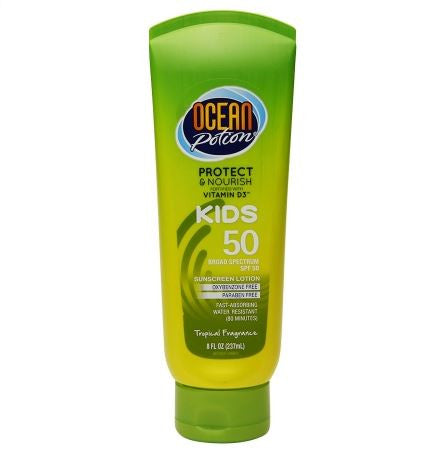 Ocean Potion Kids Sunscreen Lotion, SPF 50 (250ml)