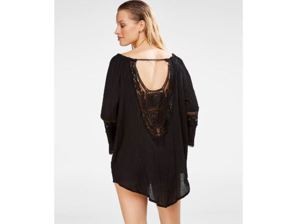 Crochet Lace Back Tunic