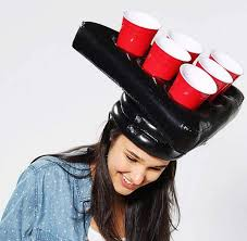 Inflatable Pong Hat