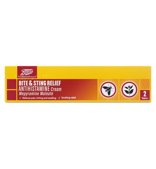 Boots Bite & Sting Relief Antihistamine Cream - 20g