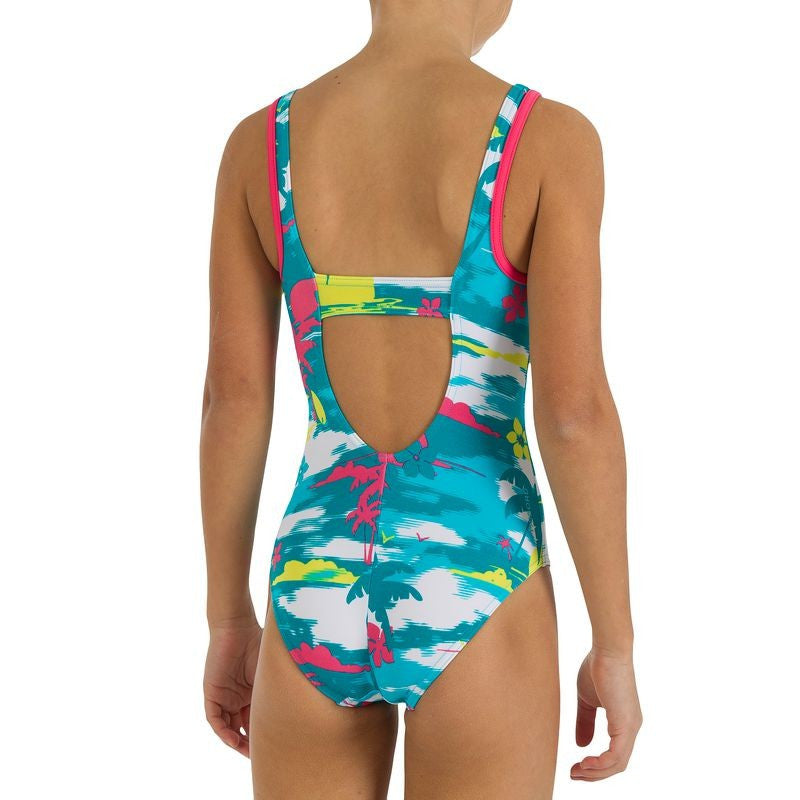 Beach Print Swimsuit (Size 10yrs Only)
