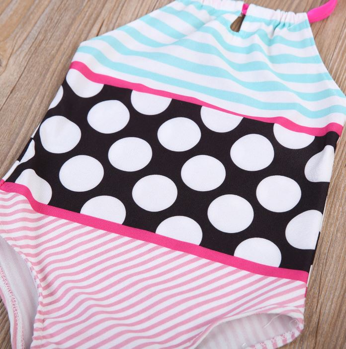 Candy Stripes & Dots Swimsuit