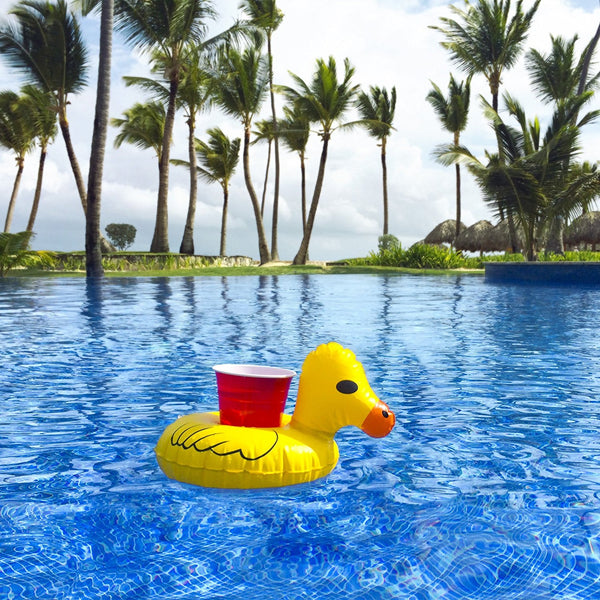 Duck Inflatable Drink Holder (Pack of 2)