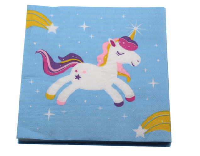 Unicorn Paper Napkins (Pack of 20)