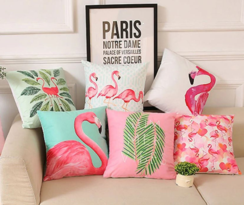 Flamingo Cushion Covers (2 Options)