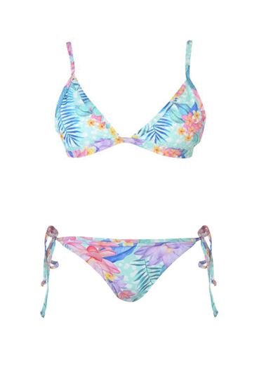 Soulcal Tropical Triangle Bikini Set