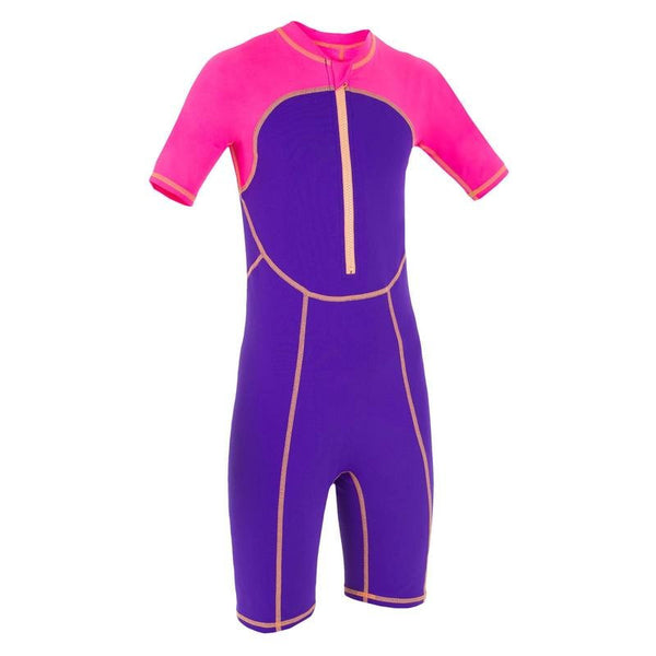 Purple/Pink Shorty Swimsuit