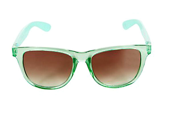 Green Retro Sunglasses