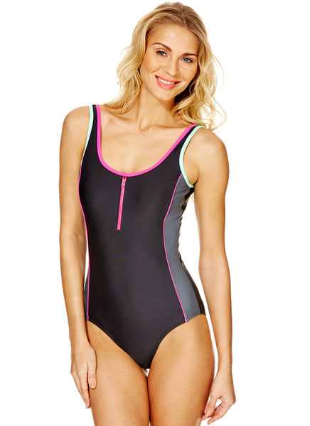 Retro Sport Swimsuit (Size UK8 Only)