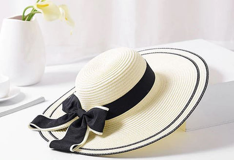 d17c691a1 Vintage Bow Beach Hat I The Beach Company I Online swim shop