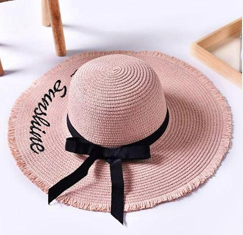 Hello Sunshine Floppy Hat - Blush